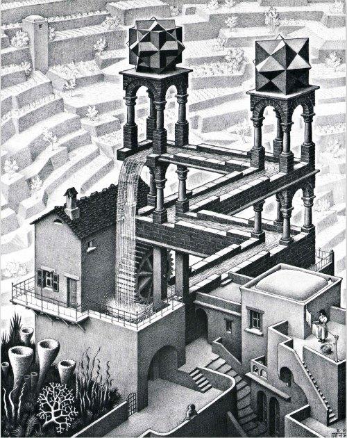 Cascada - M.C. Escher