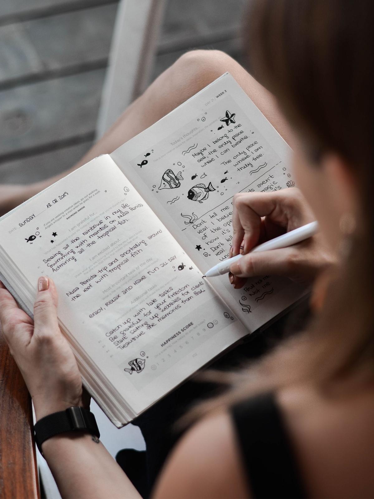 Escritura Terapéutica como herramienta de expresión