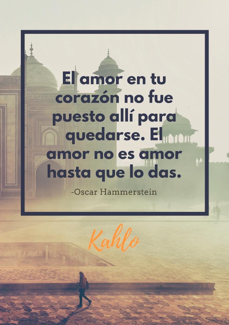 Frases Motivacionales De Amor Clinica Kahlo Psicologos En