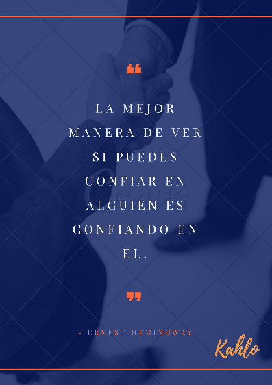 Frases Motivacionales De Confianza Clínica Kahlo